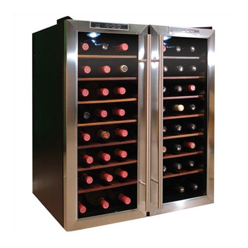 Vinotemp 48 Bottle Dual-Zone Thermoelectric Wine Cooler