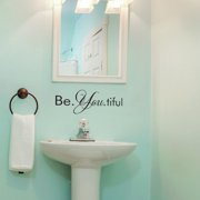 Belvedere Designs LLC Be. You. tiful Wall Decal