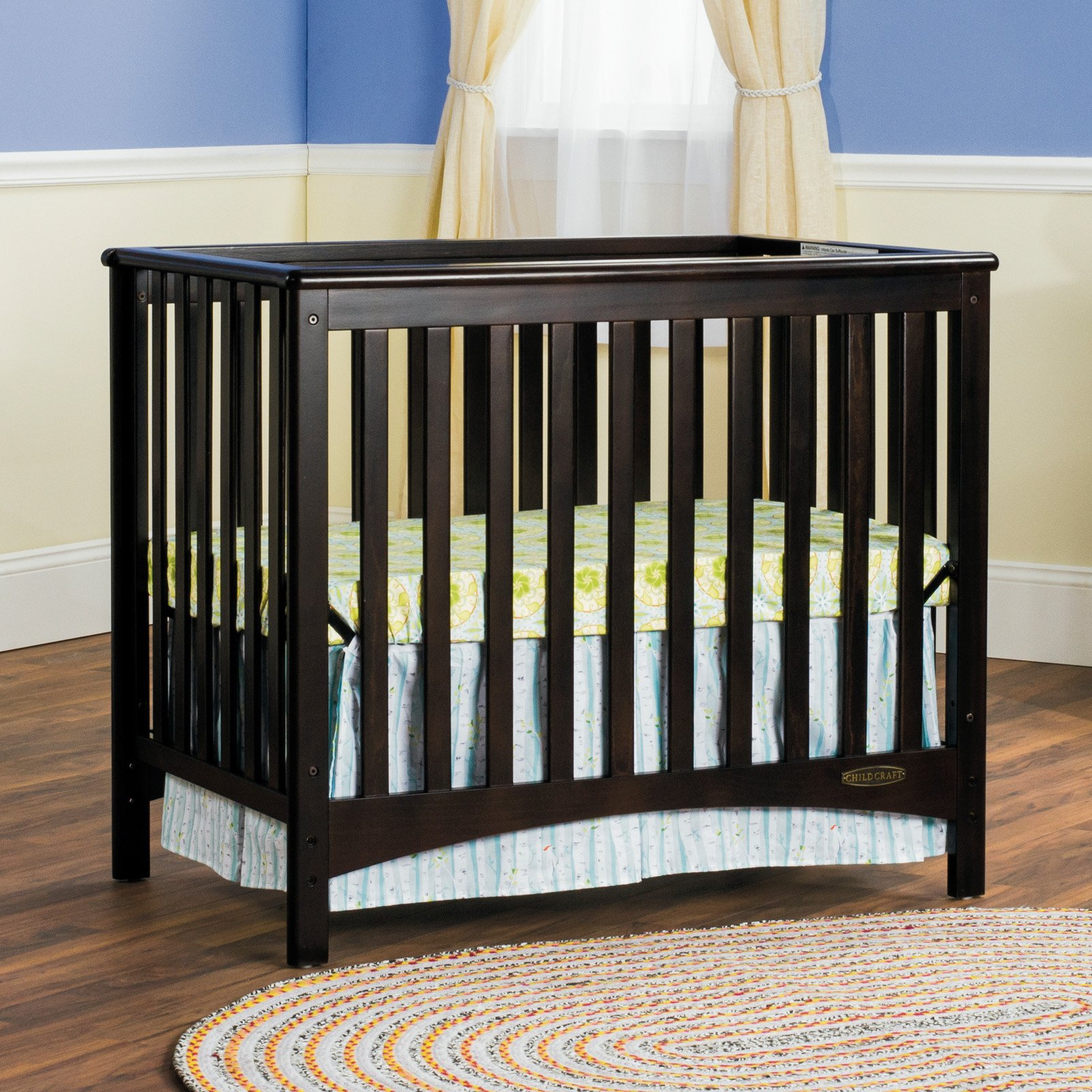 Mini Convertible Crib Actual Liberty 5 In 1 Convertible