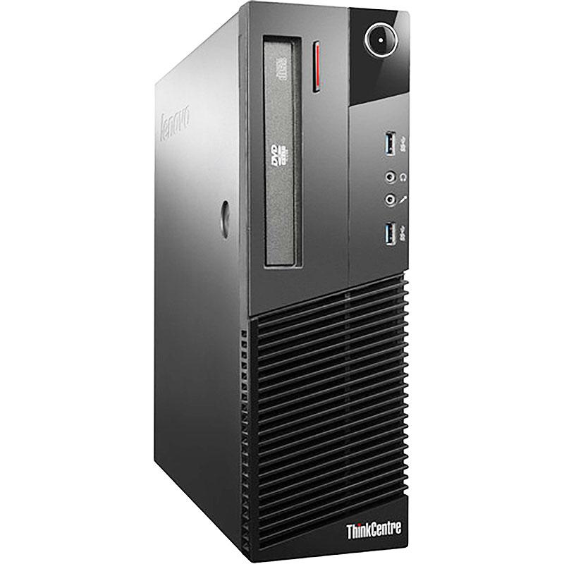 Refurbished Lenovo ThinkCentre M93 3.2GHz i5 8GB 500GB DVDRW Win 10 Pro 64 SFF Computer B