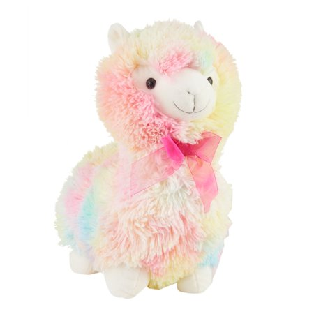Way To Celebrate Easter Stuffed Animal, Pink Llama - Llama Stuffed Animal