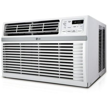 LG Energy Star Rated 8,200 BTU Window Air Conditioner with Remote Control in