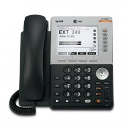 Att Vtech 80 9300 00 Syn248 Feature Deskset With Dect 6 0 5 In  Backlit