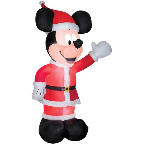 Airblown Christmas Mickey Inflatable