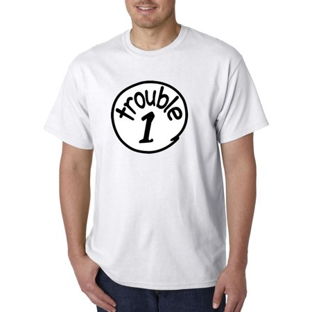 721 - Unisex T-Shirt Trouble 1 One Dr Seuss Thing