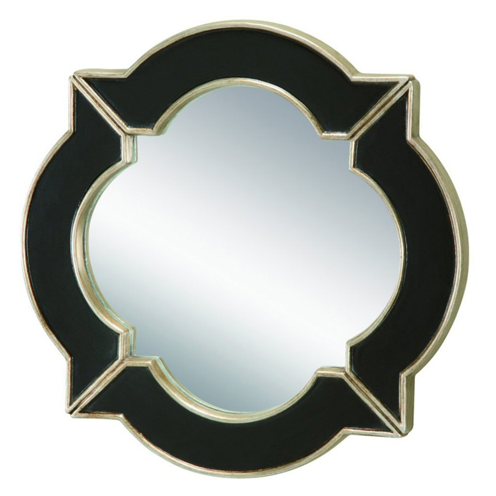 Sterling Lilliput Quatrefoil Wall Mirror - 16 in. diam.