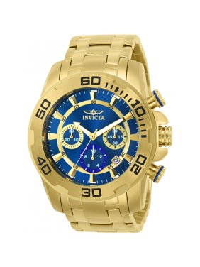 Invicta Men's 22321 Pro Diver Quartz Chronograph Blue Dial Watch