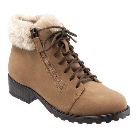 Nubuck Waterproof Boot - Women's Trotters Below Zero Waterproof Ankle Boot
