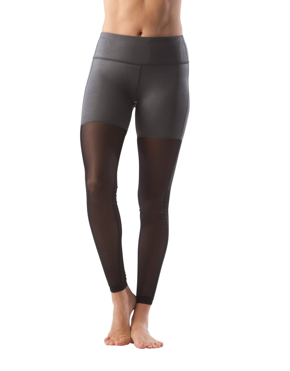 90 Degree By Reflex - Allover Mesh Paneled Leggings