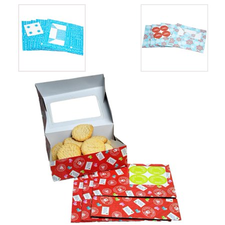 Christmas Gift Boxes For Cookies (Christmas Cheer Cookie Boxes)
