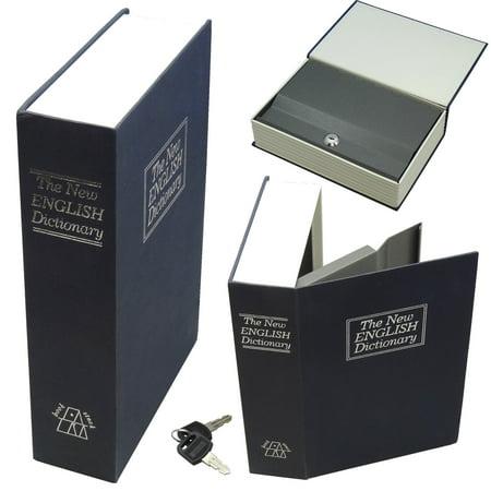 Secret Safe - Hidden Secret Book Safe Large Blue