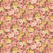 V.I.P by Cranston Packed Water Rose Fabric, per Yard