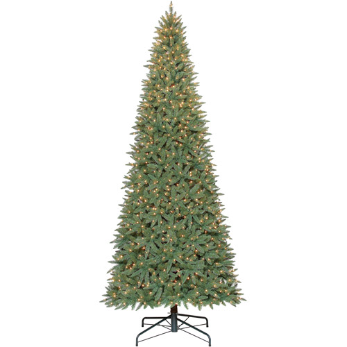 Holiday Time 12ft Williams Slim Pe Pvc Quick Set Tree