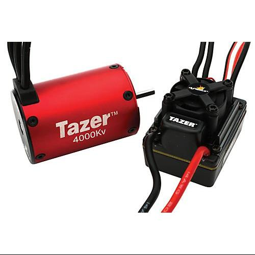 Tazer 1/10 4-Pole 4000Kv ESC/Motor Combo Multi-Colored