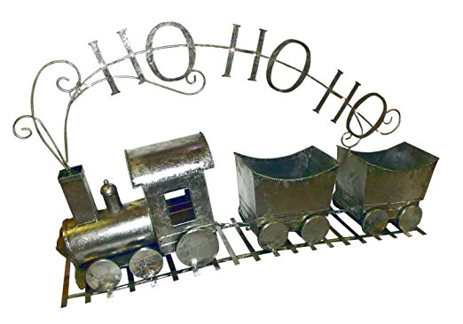 Gerson 50in Light Up Antique Ho Ho Ho Train by Gerson International