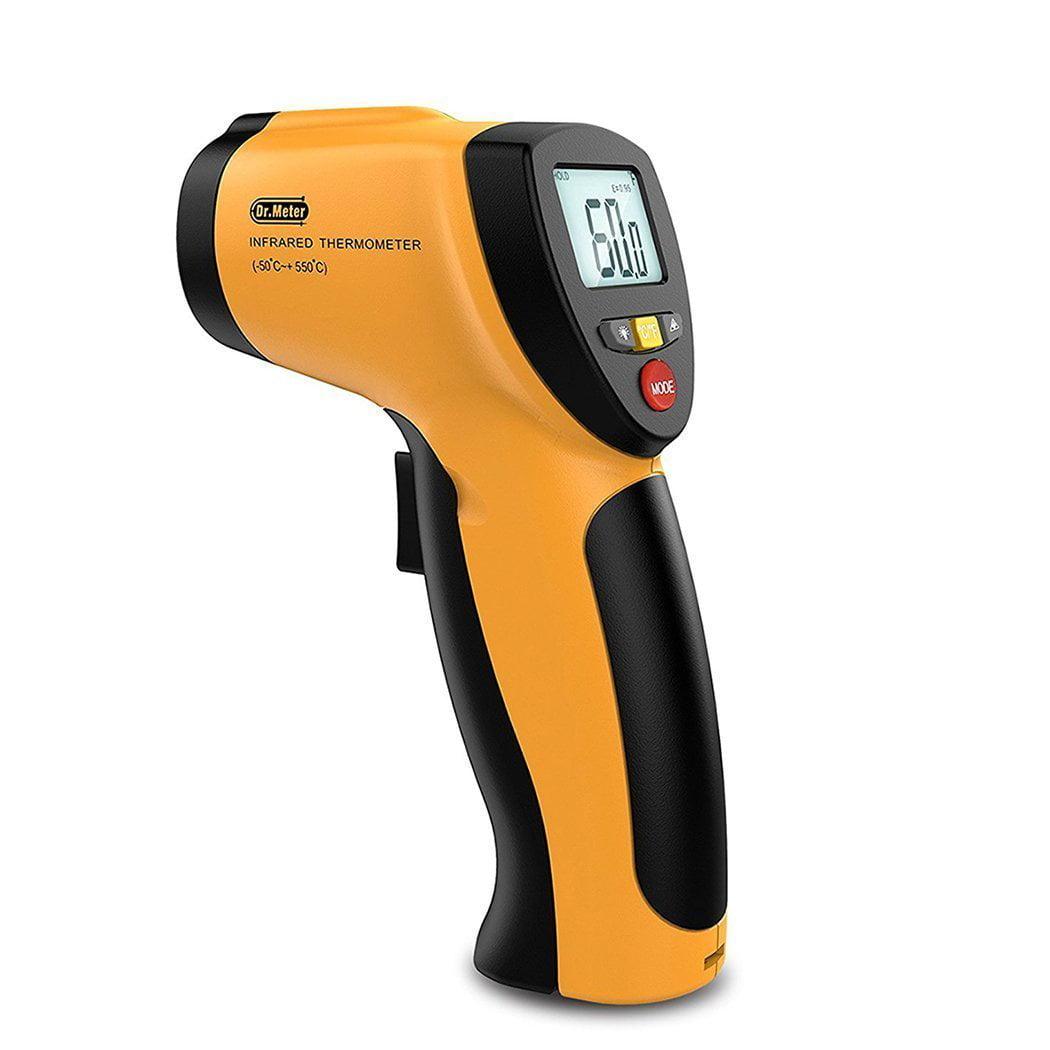 Mid-Range Laser Digital Thermometer w// Backlit LCD Display BESTSELLER