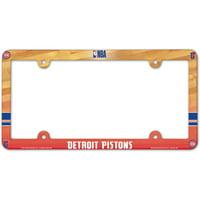 Detroit Pistons WinCraft Team Wordmark License Plate Frame