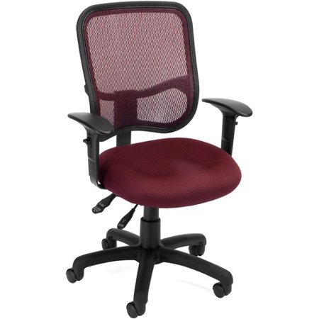OFM Mesh Back Ergonomic Task Chair With Arms