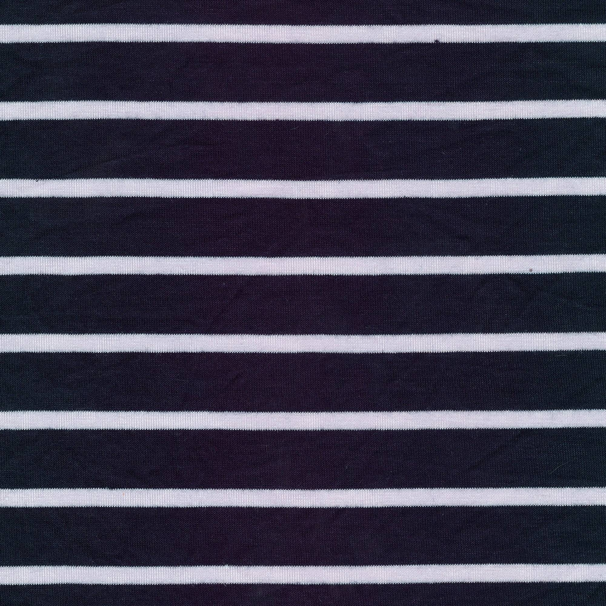 SHASON TEXTILE (3 Yards cut) CLASSIC SEW YARN DYED STRIPE FABRIC, NAVY / WHITE