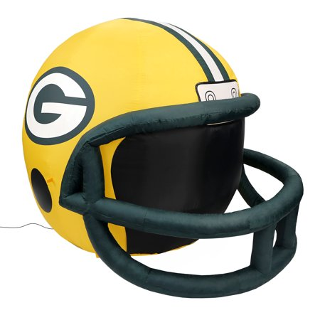 NFL Green Bay Packers Team Inflatable Lawn Helmet, One Size, - Inflateable Helmet