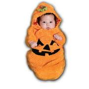 Pumpkin Bunting Newborn Halloween Costume