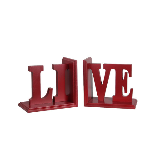 Darby Home Co Live Wooden Bookend by