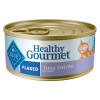Blue Buffalo Healthy Gourmet Natural Adult Flaked Wet Cat Food, Tuna, 5.5 oz. can