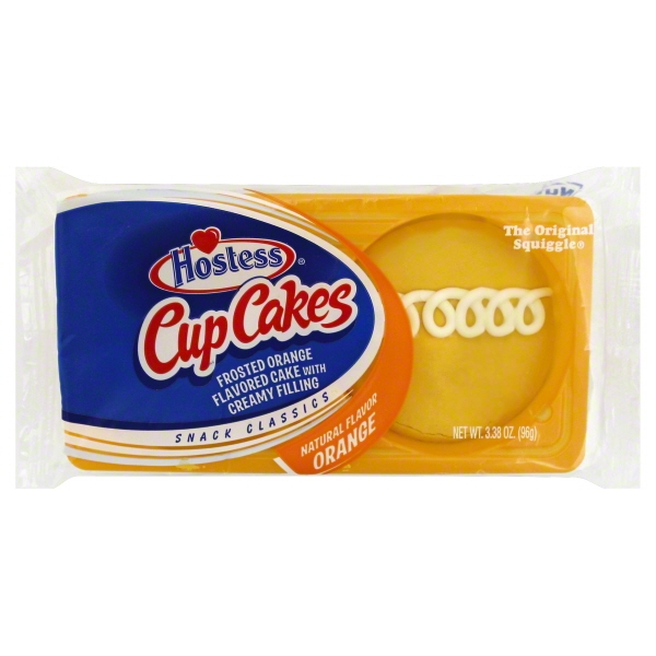 Hostess Orange Cupcakes, 3.38 oz 2ct