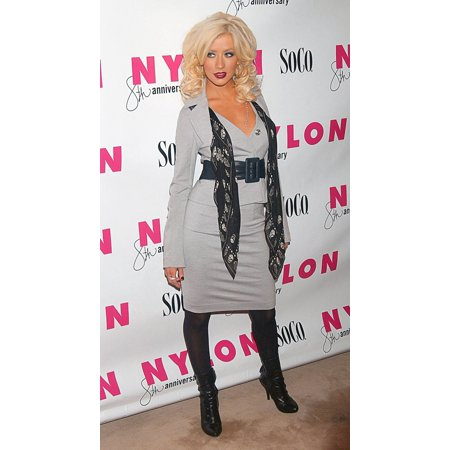 Christina Aguilera At Arrivals For Nylon Magazine Party Hotel Gansevoort New York Ny March 21 2007 Photo By Kristin CallahanEverett Collection - Party Magazines