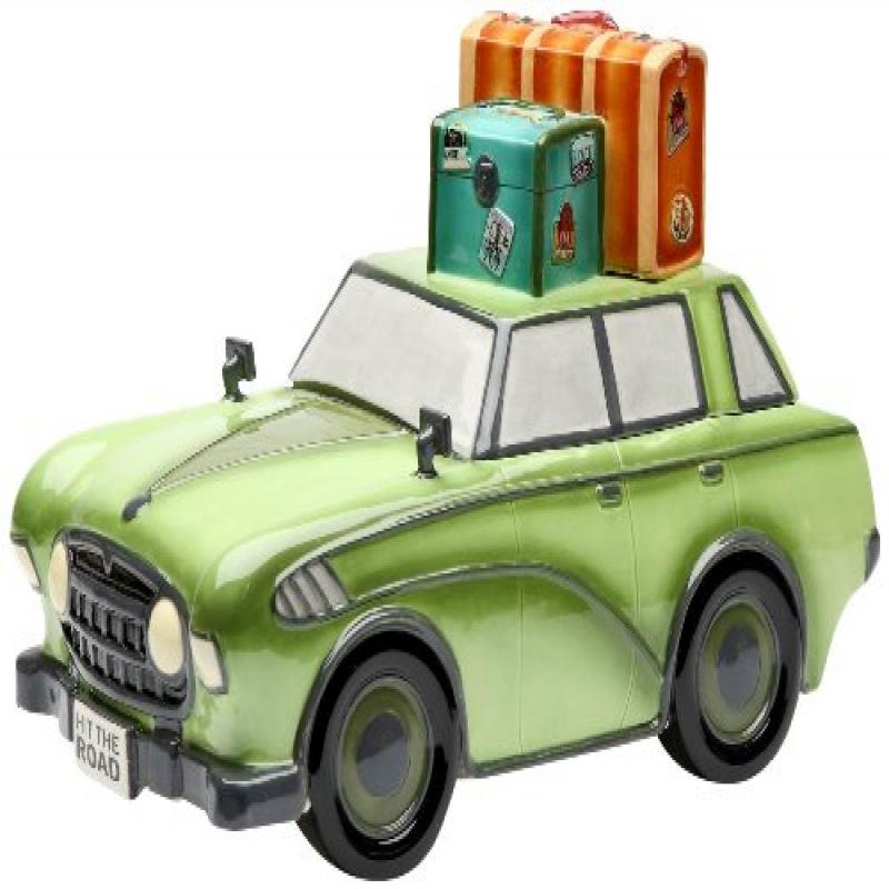 Appletree Design Road Trip Car Cookie Jar, 7-5 8-Inch by Cosmos Gifts