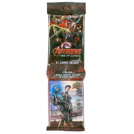 Marvel Avengers: Age of Ultron Jumbo Pack (Upper Deck 2015)](Avengers Cards)