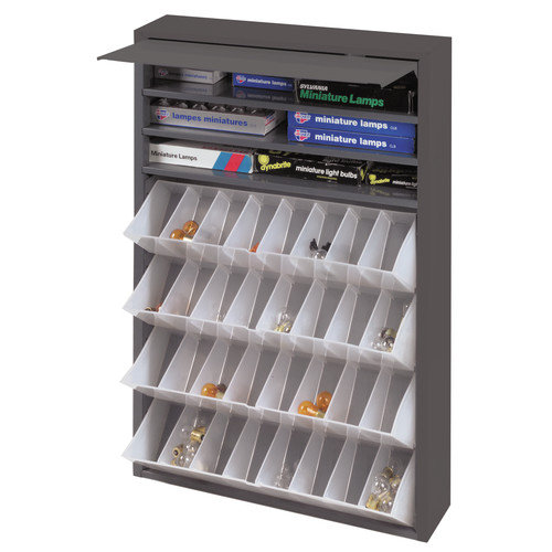 Durham Manufacturing Prime Cold Rolled Steel Tilt-Out Tray Dispensing Cabinet