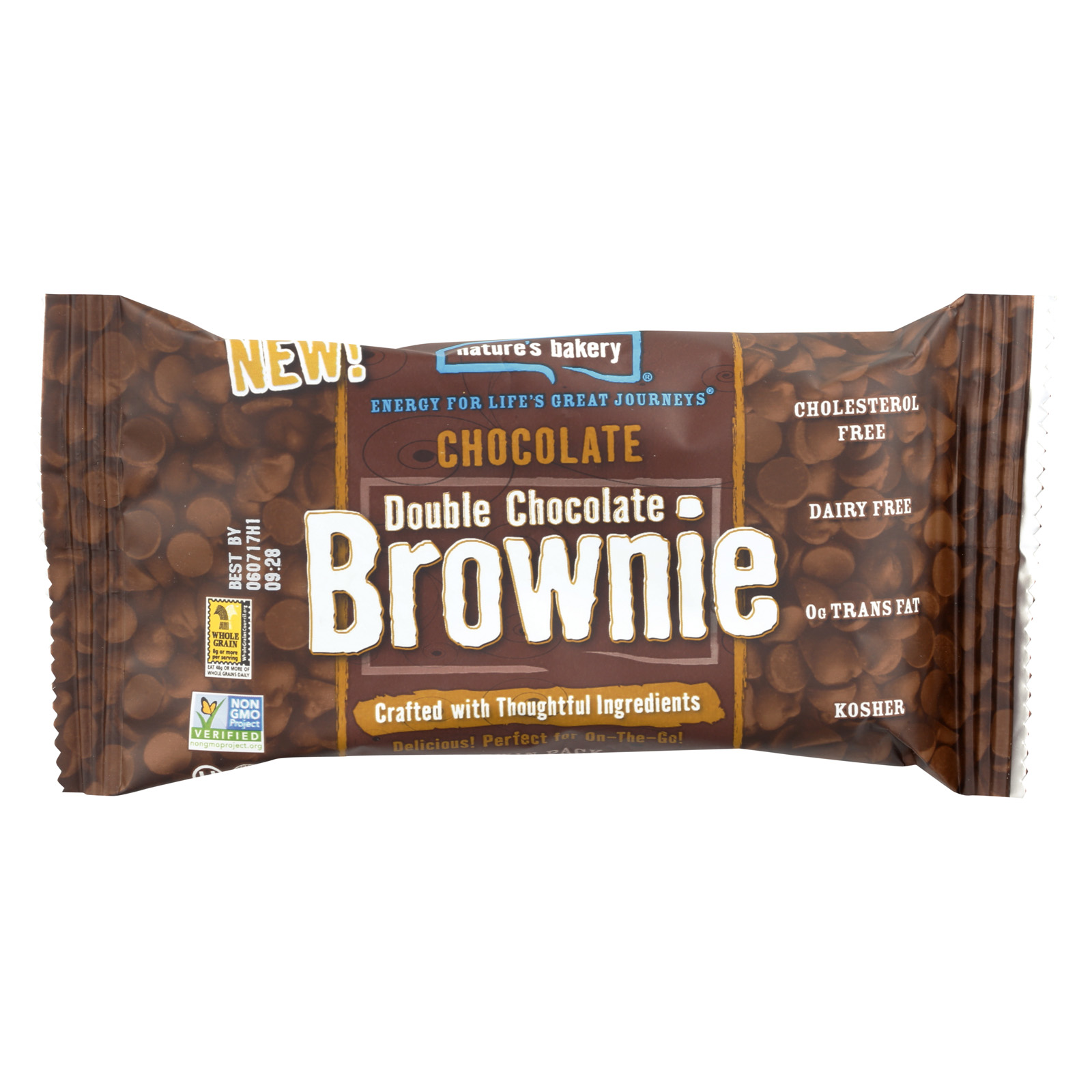 Bella Four Bakery Natures Bakery  Brownie, 2 oz