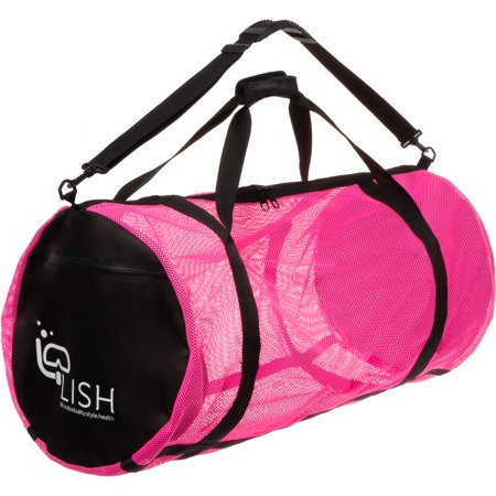 LISH Mesh Dive Bag - XL Multi-Purpose Equipment Diving Duffle Gear Tote | Ideal for Scuba, Snorkeling, Surfing and More