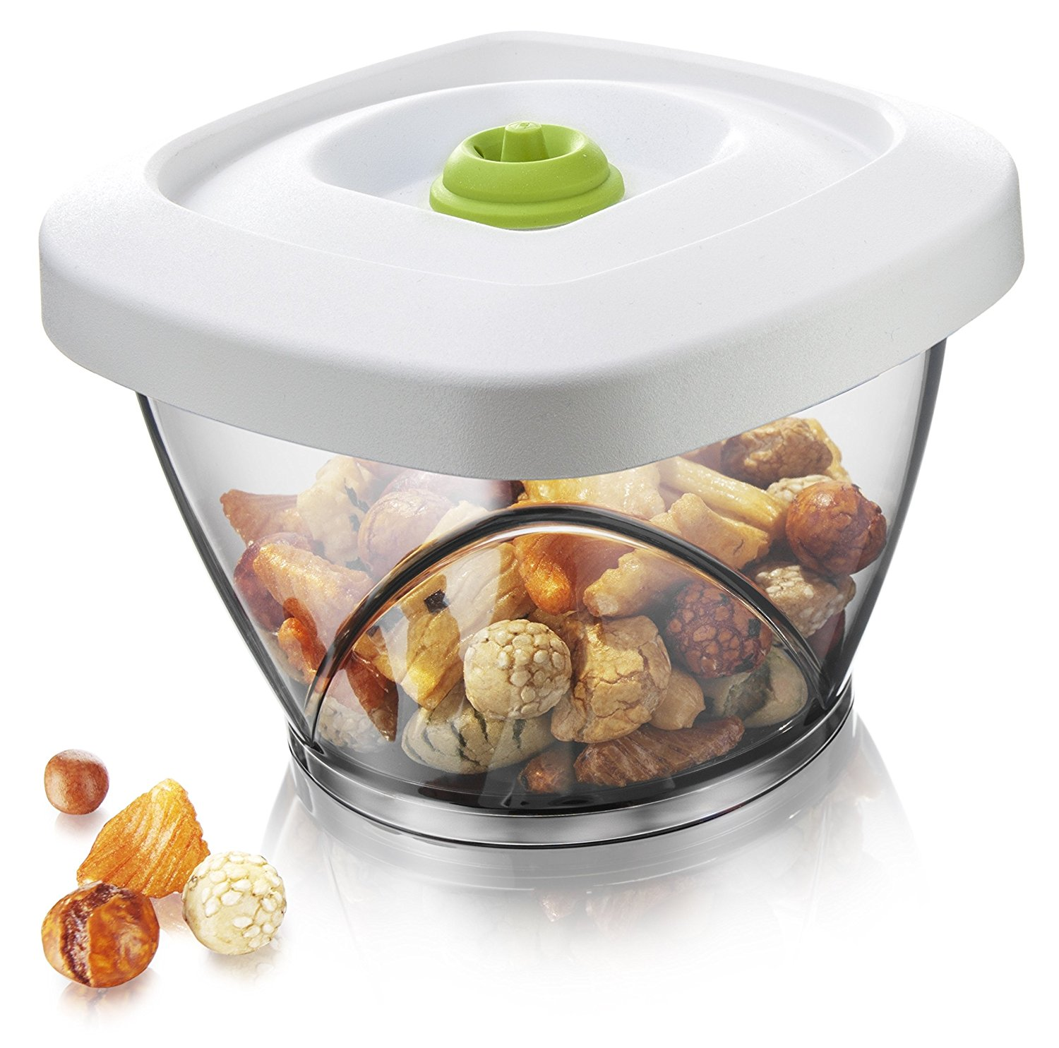 Tomorrowu0027s Kitchen Small Vacuum Storage Container Small .65 Liter Vacuum Sealed Container (Pump not included) By Tomorrows Kitchen - Walmart.com  sc 1 st  Walmart & Tomorrowu0027s Kitchen Small Vacuum Storage Container Small .65 Liter ...