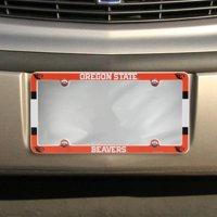 Oregon State Beavers WinCraft Plastic License Plate Frame - No Size