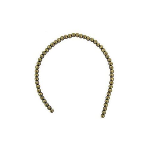 Small Round Gold Beads String (Pack of 24)