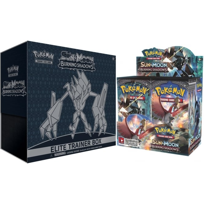 Pokemon TCG: Sun & Moon Burning Shadows Booster Box & Elite Trainer Box by Pokemon