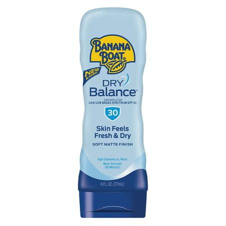 Banana Boat Dry Balance Sunscreen Lotion SPF 30, 6 Oz, Packaging May Vary