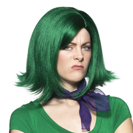 Dark Angel Cosplay (Gust Wig Disgust Inside Out Pixar Movie Hair Cosplay Costume Hunter)