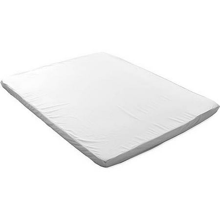 "Image of Aerus Natural 3"" Memory Foam Topper w/ 300TC Sateen Cover"