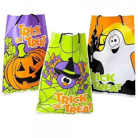 Assorted Halloween Theme Trick Or Treat Drawstring Goody Bags (36) - Christian Themed Halloween Treats