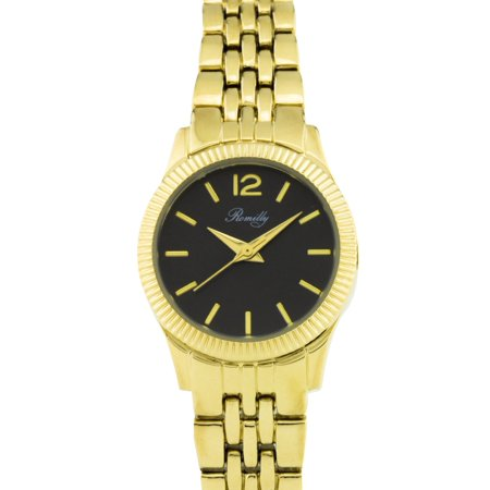 Bancroft ladies' watch, fluted bezel, multi-link bracelet