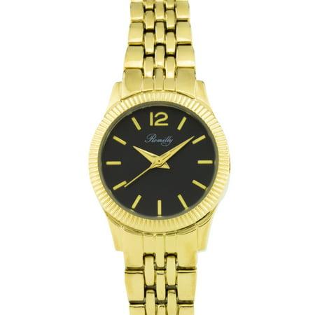 Kenneth Cole Bezel Bracelet (Bancroft ladies' watch, fluted bezel, multi-link bracelet)
