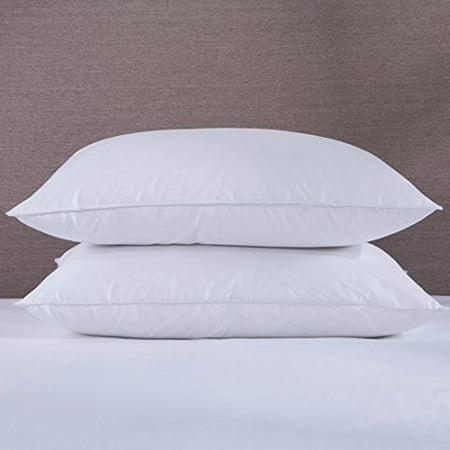 ECB Feather and Down Bed pillows, Set of 2 (Standard)