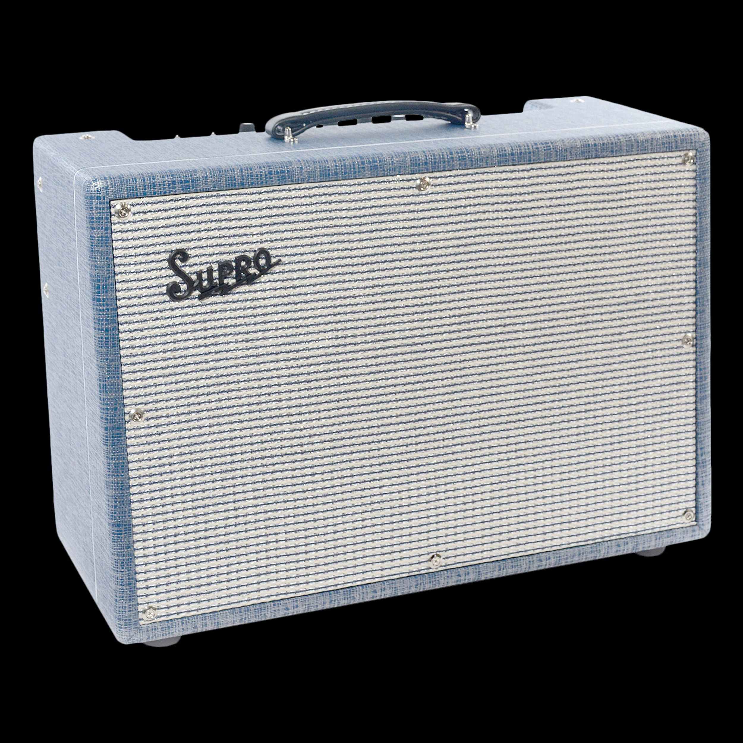"Supro 1650RT Royal Reverb 2x10"" 35 45 60 Watts Reverb Tremolo Combo by supro"