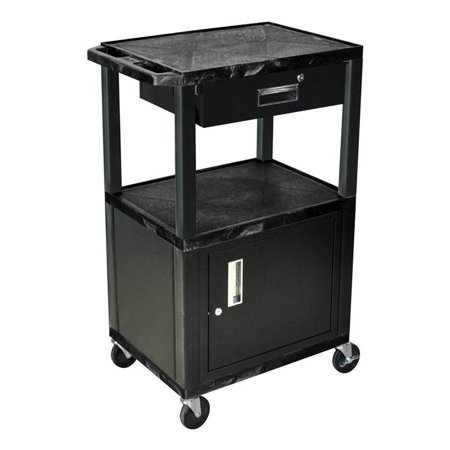 Tuffy Multi-Purpose Cart in Black