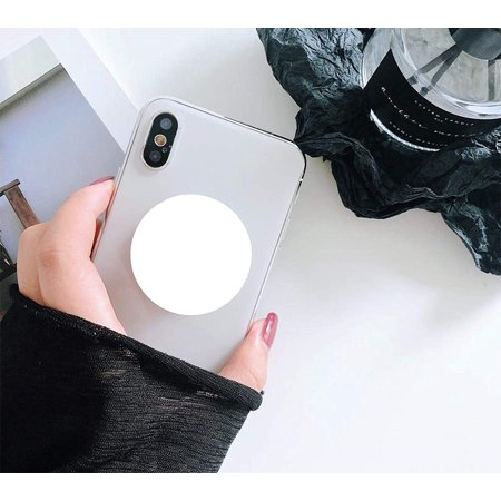Phone Grip Holder, Expanding Cellphone Socket Mounts Stands for Smartphones and Tablets-White - image 1 of 3