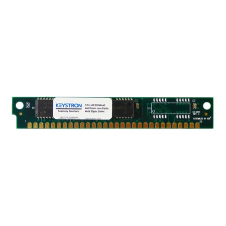 4Mb 30Pin Non Parity Simm Ram Memory 60Ns For Apple  Macintosh  Musical Sampler  Old Pc  Video Controller