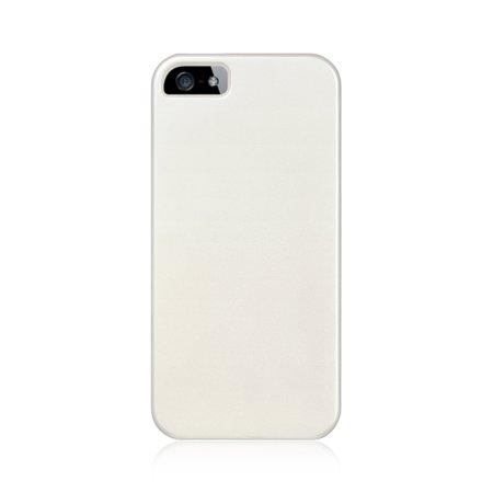 Insten Crystal Hard Clip On Case White For Apple iPhone SE / 5 / 5S